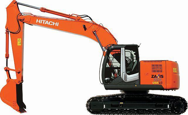 Гусеничный экскаватор Hitachi ZX225