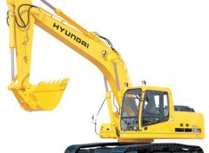 Гусеничный экскаватор Hyundai R210LC-7
