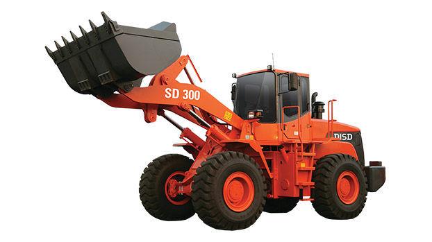 Фронтальный погрузчик Doosan SD300