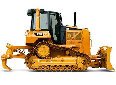Бульдозер Caterpillar D6M LGP (болотный)